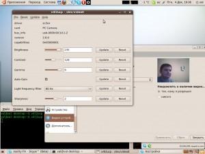 Итог проделанной работы по настройке Skype